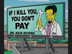 Check out the best jokes and puns the Simpsons writers hid in signs around Springfield in this funny gallery. The Simpsons, Simpsons Funny, Simpsons Quotes, Simpsons Party, O Simpson, Homer Simpson, Futurama, Haha Funny, Hilarious