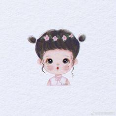 Cute Characters, Disney Characters, Baby Clip Art, Cute Cartoon, Cute Drawings, Kawaii, Cute Kids, Avatar, Chibi