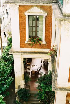 charming french apartment with porch on 1st level - LOVE LOVE LOVE!