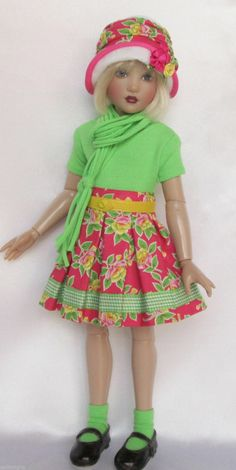 """Shea's Spring Brights for 14"""" Kish Chrysalis Made by Ssdesigns 