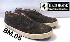 Black Mastes original handmade kode 05 Slipon size 39-43 Rp.189.000