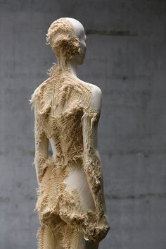 6) Aron Demetz - The Tainted (2012) - Distressed wood