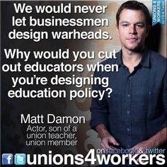 I love you, Matt Damon