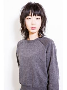 giulietta ストリート感のあるミディアムウルフ Medium Hair Cuts, Short Hair Cuts, Medium Hair Styles, Curly Hair Styles, Short Shag Hairstyles, Kawaii Hairstyles, Mullet Hairstyle, Japanese Hairstyle, Hair 2018