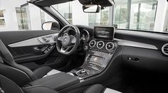 View of the interior of the new Mercedes-AMG 63 S Cabriolet.
