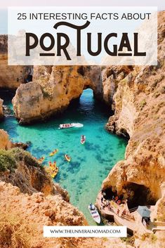 Portugal is an incredible country, for a place so small on a map, it has certainly made its mark on the world. Known for being intrepid explorers, they led the world in travel and trade. Here is a short list of the top 25 facts about Portugal you may not know about. #portugal #portuguesefacts #traveltips #theuniversalnomad Portugal Facts, Visit Portugal, By Train, Europe Destinations, Plan Your Trip, World Heritage Sites, Us Travel, Australia, Travel Inspiration