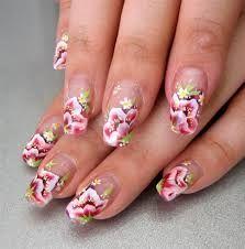Resultado de imagen para one stroke nail art