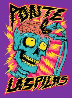 Portfolio — Joe Tamponi - Art & Illustrations inspired by skateboarding and surfing world Graphic Design Posters, Graphic Design Illustration, Illustration Art, Art Illustrations, Arte Dope, Dope Art, Psy Art, Psychedelic Art, Cartoon Art