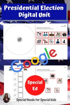 This unit on the presidential election 2020 has 175 pages, 46 google slides and a 12 day lesson plan. It was created for students with autism and special learning needs in middle and high school. It has a book, vocabulary, activities, and assessment. Activities have a digital version for google classroom. #specialneedsforspecialkids #specialeducation #specialed #election #republicans #democrats #usgovernment #presidentialelection #presidentialelection2020 #election2020 #distancelearning Vocabulary Cards, Vocabulary Activities, Class Activities, Teaching Social Studies, Student Teaching, Presidential Election Process, Google Classroom, High School Students, Special Education