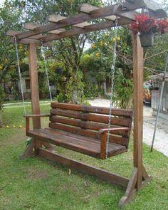 Balancelle de jardin 32 exemples pour votre espace for Casillas para jardin