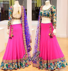 Indian Party Wear, Indian Wedding Outfits, Pakistani Outfits, Indian Wear, Indian Outfits, Designer Bridal Lehenga, Bridal Lehenga Choli, Saree, Indiana