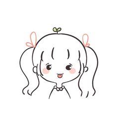 Cute Little Drawings, Cute Cartoon Drawings, Cute Easy Drawings, Cute Kawaii Drawings, Cartoon Art Styles, Kawaii Art, Kawaii Doodles, Cute Doodles, Cute Doodle Art