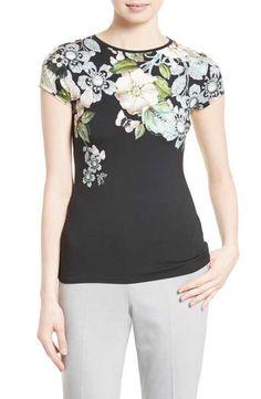 d1708e792d6f TED BAKER  Cosita  Floral Print Tee.  tedbaker  cloth