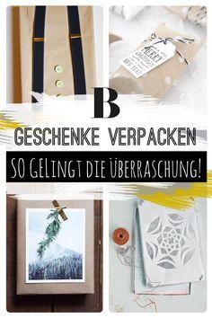 Ob zum Geburtstag, zu Weihnachten oder einfach zwischendurch: Geschenke originell zu verpacken kommt immer gut an!