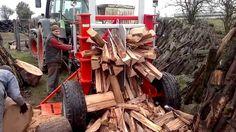 100 Ways to Split Firewood  Best Cleaver, Saw and Log Splitter Compilation