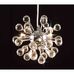 Harrison Lane Modern 6 Light Crystal Chandelier