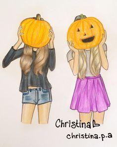 Ideal Para Ti y Tu Mejor Amiga En Halloween
