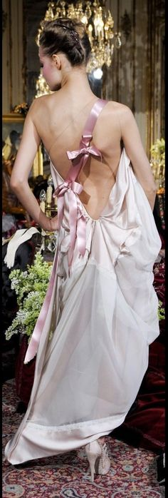 John Galliano for Christian Dior Fashion Moda, Runway Fashion, High Fashion, Armani Prive, Olivia Palermo, Elie Saab, Blush Rosa, Fiestas Party, Valentino