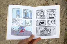 Baby Hands Zine by DanyReede on Etsy
