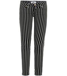 Skyline stripe mid-rise skinny jeans by Paige Premium Denim #Matchesfashion