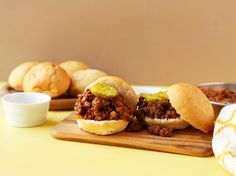 Grandmas Sloppy Joes recipe: This was one of my favorite things that my grandma made.it is a comfort food for me. It is so easy, and so delicious! Ground Beef Recipes Easy, Beef Recipes For Dinner, Meat Recipes, Cooking Recipes, Recipies, Hamburger Recipes, Sandwich Recipes, Hamburger Dishes, Party Recipes