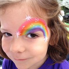 Rainbow Eye - Face painting by Valery - Chicago IL face painter | Yelp