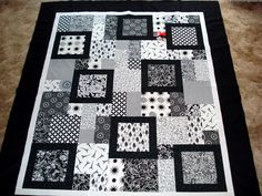 black and white quilts | Recent Photos The Commons Getty Collection Galleries World Map App ...