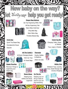 Goonan's Creations www.mythirtyone.com/JGoonan Ideas for your Baby Registry