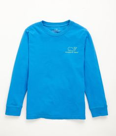 eb6868418c5538 Boys  T-Shirts  Long Sleeve Neon Vintage Graphic Whale T-Shirts for