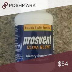 Prosvent Ultra Blend with Nettle and Cranberry - Prosvent Ultra Blend with Nettle and Cranberry - Natural Prostate Health New Other