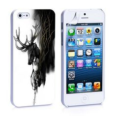 deer painting iPhone 4, 4S, 5, 5C, 5S Samsung Galaxy S2, S3, S4 Case – iCasesStore