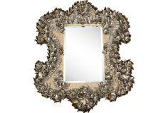 $2299    One Kings Lane - Barclay Butera - Abalone Shell-Encrusted Mirror
