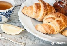 Habkönnyű croissant Croissant, Pretzel Bites, Love Food, Bread, Brot, Crescent Roll, Baking, Breads, Crescent Rolls