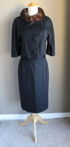 Vtg 50's 60's Lilli Ann Blin & Blin Mad Men Coat by RedHatVintage, $225.00