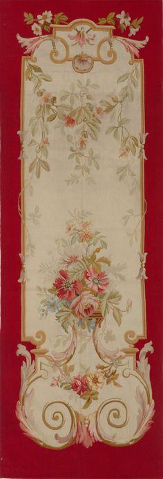 Matt Camron Rugs & Tapestries Antique European Aubusson Panel Rug