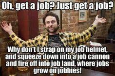 Finding a job...