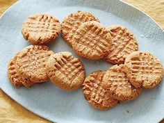 Flourless Peanut Butter Cookies Recipe : Claire Robinson : Food Network