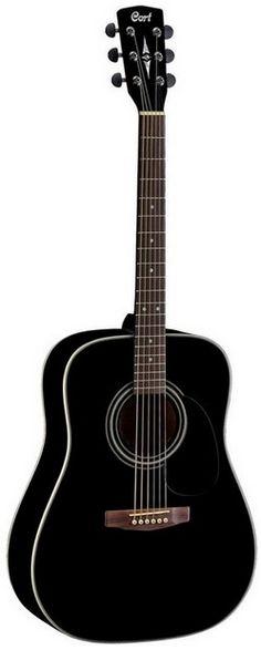 Guitare folk CORT EARTH 100 BK