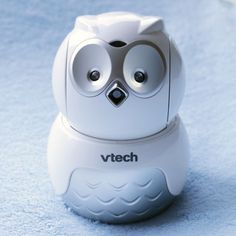 Adorable owl baby monitor with pan/tilt, full-motion video and auto night vision. Also comes with 2 cameras!