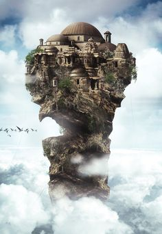 Matte Paintings by Ramy Mohamed, via Behance