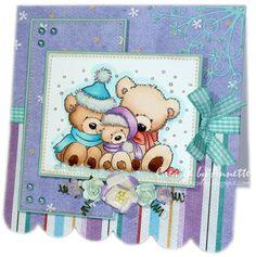 Netty's Cards: Image - Wild Rose Studio