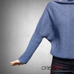 Handmade sweater   Comfortable knitted sweater   Small dropped neck Knitting Ideas, Easy, Knitwear, Sweatpants, Pullover, Detail, Sweaters, Jackets, Handmade