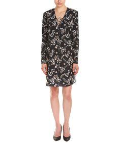 AMANDA UPRICHARD AMANDA UPRICHARD LACE-UP SHIFT DRESS'. #amandauprichard #cloth #day