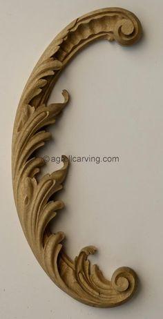 Rococo acanthus | The Decorative Arts Library | Ornapedia