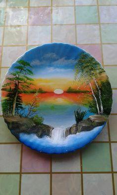 Rock Painting Patterns, Rock Painting Designs, Acrilic Paintings, Painted Rocks Craft, Jolie Photo, Pebble Art, Stone Art, Stone Painting, African Art