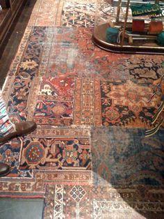 Oriental Rug Patchwork