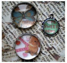 DIY photo pendant. find glass tiles bails bases at ecrafty.com http://www.ecrafty.com/c-6-photo-jewelry.aspx