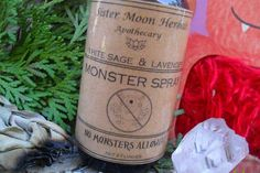 Monster Spray Kid's Smudge Spray Sleep Aid by SisterMoonHerbals inflammation Insomnia Remedies, Sleep Remedies, Banana Cinnamon Tea, Monster Spray, Circulatory System, Cold Sore, Natural Sleep, Varicose Veins, Natural Home Remedies