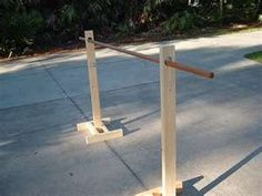 how to make a clothes rack for yard sale - Google Search