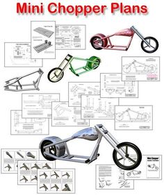 22 Ideas mini chopper motorcycle bobbers for 2019 Bike Chopper, Mini Chopper Motorcycle, Mini Bike, Custom Motorcycles, Custom Bikes, Chopper Frames, Velo Design, Diy Go Kart, Motorized Bicycle